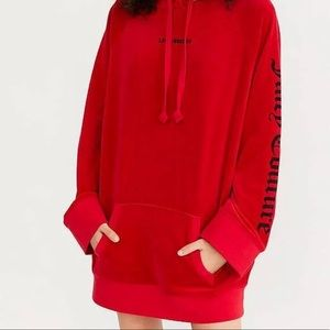 juicy couture urban outfitters velour hoodie